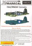 X48141  1/48 Vought F4U-1 Corsair II / Goodyear FG-1D decals (4)